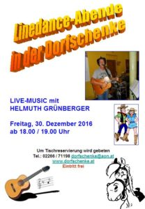 linedance-abend-30-12-2016