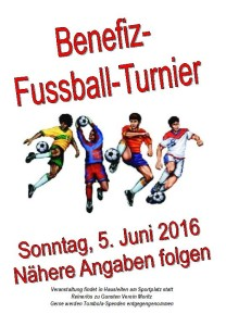 Benefiz-Fussballturnier