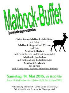 Maibock-Buffet 2016