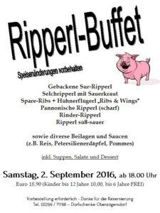 Ripperl-Buffet