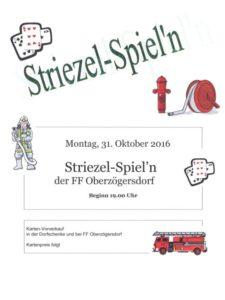 Weltspartag !! - Striezel-Spiel'n der FF Oberzögersdorf