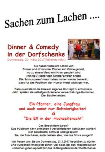 Dinner & Comedy