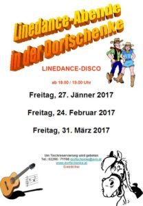 Country- und Linedance-DISCO