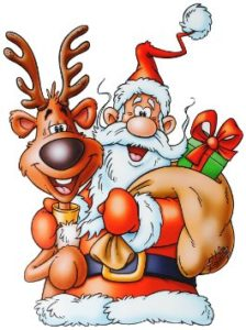 Großes Weihnachts-Buffet
