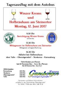 Autobusfahrt -Tages-Ausflug nach Krems
