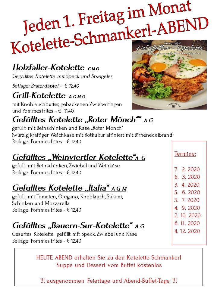 Kotelette-Abend