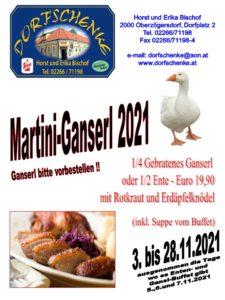 Martini-Ganserl